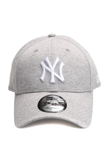 New Era New Era New York  Logolu Erkek Şapka 101577317 Gri
